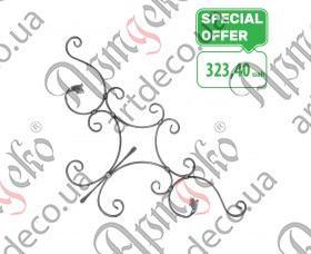 Кованая розетка 850х850х14х7 - изображение