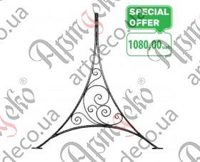 Кованая ножка для качели 2000х1800х40х25 вальц. - изображение