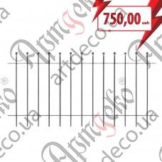 Секция ограждения 1000х2000х12 невальц. - изображение