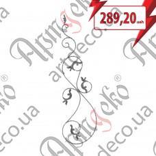 Розетка 380х1430х14х7 вальц. левый - изображение