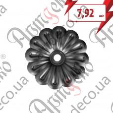 Цветок 97х1,5 отверстие 8 - изображение