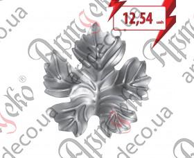 Кованый лист 125х115х1,5 - изображение
