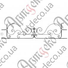 Holder for a balcony box 390х1745х12/12х6 - picture