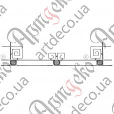 Holder for a balcony box 385х1800х12/12х6 - picture