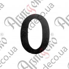 """Цифра """"0"""" 120х3 - изображение"""