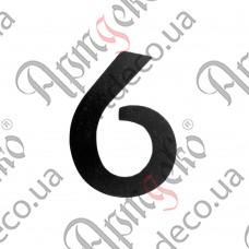 """Цифра """"6"""" 120х3 - изображение"""