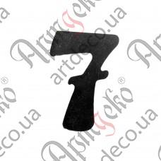 """Цифра """"7"""" 120х3 - изображение"""