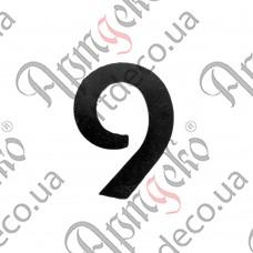 """Цифра """"9"""" 120х3 - изображение"""