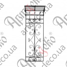 Wall hanger with 3 hooks 1450х515 - picture