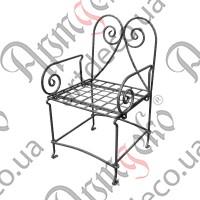 Кресло кованое 580х550х1000 - изображение