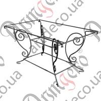 Стол прямоугольный кованый 900х1500х800 - изображение