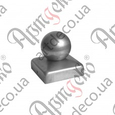 Cover with ball 40x40х40 - picture
