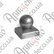 Крышка 40х40 шар 40 - изображение