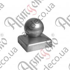Крышка 50х50 шар 40 - изображение