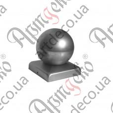 Крышка 50х50 шар 50 - изображение