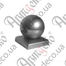 Крышка 80х80 шар 60 - изображение