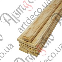 Брус деревянный (Ольха) 1500х75х35(9 шт./комплект) - изображение