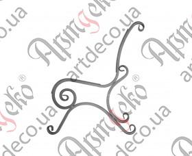 Боковушка лавочки 890х800х20 - изображение