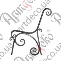 Боковушка лавочки 875х780х20 - изображение