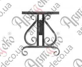 Ножки лавки 420х370х20 (2 шт./комплект) - изображение