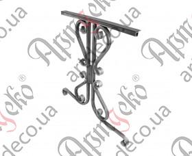 Кованая ножка стола 750х755х20 (2 шт./комплект) - изображение