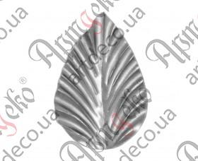 Кованый лист 70x47x1,2 - изображение