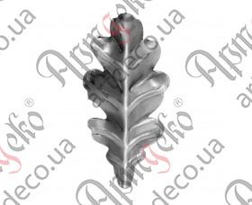 Кованый лист 100х50х2 - изображение