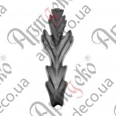 Лист 205х80х2,5 - изображение