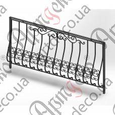 Балконное ограждение 2000х1100 - изображение