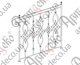 Ladder fence 1000х1000 - picture