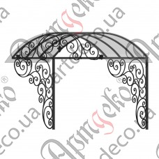 Forged cover 2400х2000(1500)х1500 - picture