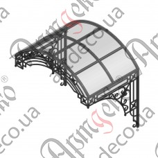 Forged cover 1500х1400(1030)х1030 - picture