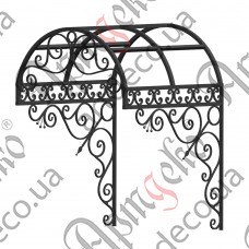 Forged cover 1170х1660(1200)х1200 - picture