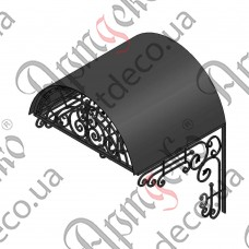 Forged cover 1140х1420(900)х1050 - picture