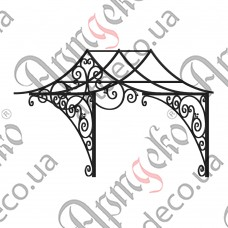 Forged cover 1470х1350(900)х1200 - picture