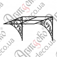 Forged cover 1400х820х1135 - picture