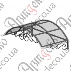 Forged cover 2500х835(360)х1200 - picture
