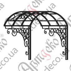 Forged cover 1170х1165(800)х1200 - picture
