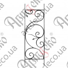 Панель кованая 1000х315х14х7 - изображение