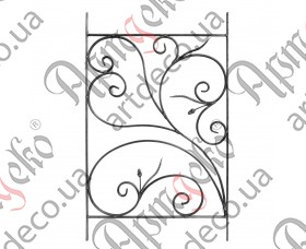 Панель кованая 1000х620х14х7 - изображение