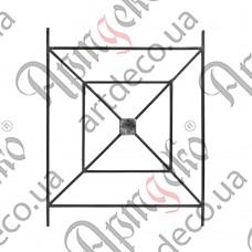 Forged panel 1000х800х12 smooth - picture