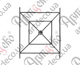 Панель кованая 1000х800х12 невальц - изображение