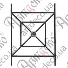 Forged panel 700х500х12 smooth - picture