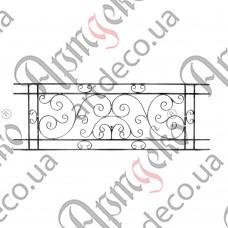Панель кованая 605х1805х12/12х6 невальц. - изображение