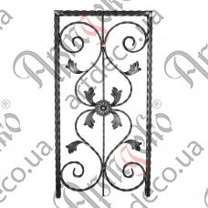Forged panel  400х815х20 beaten - picture