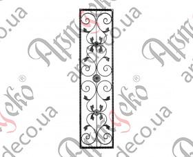 Панель кованая  400х1640х20 вальц. - изображение
