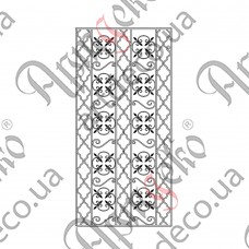 Forged grate 980х2024 - picture