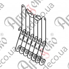 Forged grate 960х1400 - picture