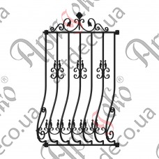Forged grate 928x1200(1430) - picture
