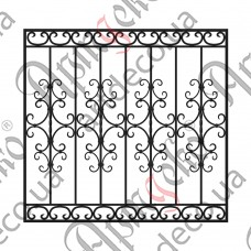 Forged grate 1245x1180 - picture